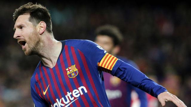 Pues no...Aún no lo habíamos visto todo de Messi