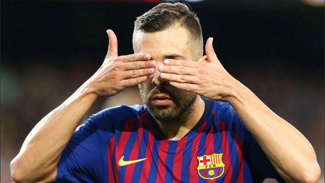 ¿A quién dedicó Jordi Alba su gol al Huesca? - LALIGA