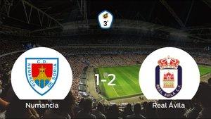El Real Ávila vence 1-2 en el estadio del Numancia B