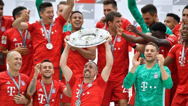 Robben y Ribery se despiden a lo grande: gol y título