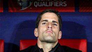 Robert Moreno, corta etapa al frente de la selección española