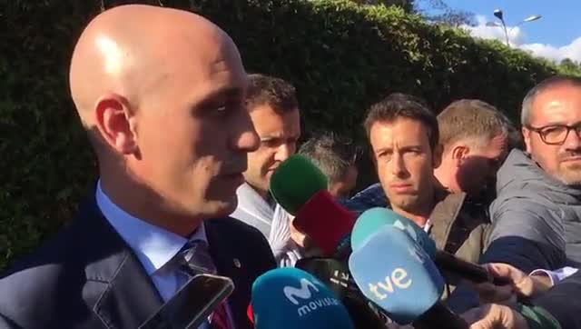 Rubiales espera un Croacia-España sin incidentes