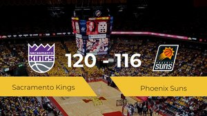 Sacramento Kings se impone por 120-116 frente a Phoenix Suns