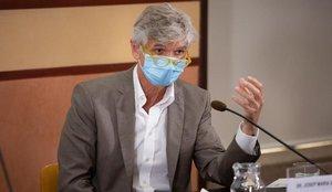 El secretario de Salut Pública de Catalunya, Josep Maria Argimon, ingresado por coronavirus