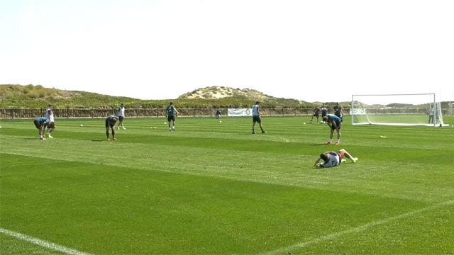 La selección se prepara para el próximo duelo ante Malta