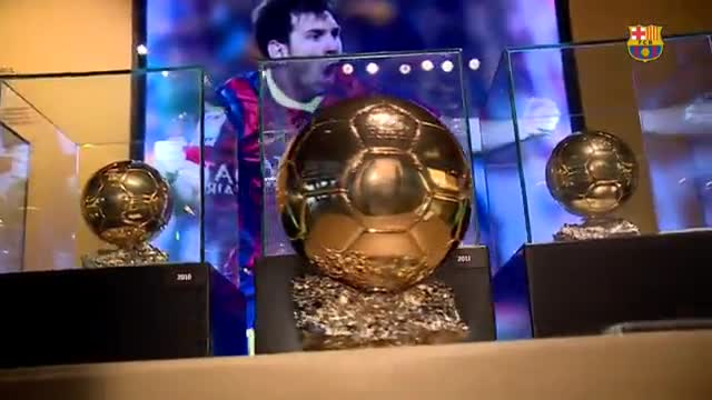 El sexto Balón de Oro de Messi ya está en el Museu