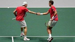 Shapovalov y Pospisil formaron la dupla canadiense