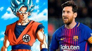 Son Goku y Messi