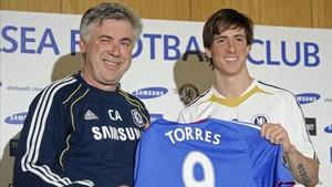 Torres fue el fichaje más caro de la historia del Chelsea