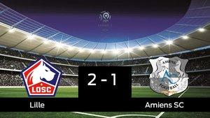 Tres puntos para el equipo local: Lille 2-1 Amiens SC