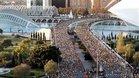 Una imagen de la Maratón de Valencia