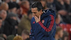 Unai Emery está siendo muy criticado tras la derrota ante el Sheffield United