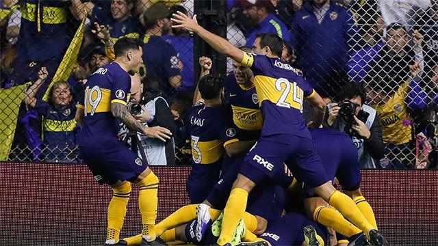 Victoria de Boca ante Patronato (0-2)