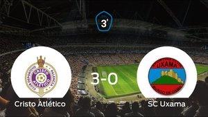 Victoria para el Cristo Atlético tras golear al Uxama 3-0