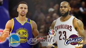 Warriors y Cavaliers se enfrentan en la final de la NBA