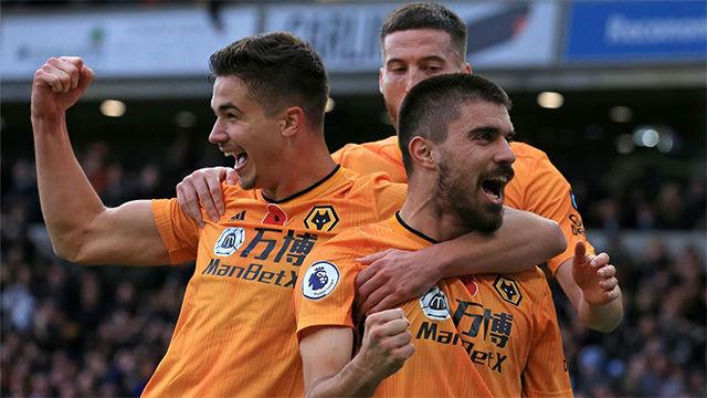 El Wolverhampton se impone al Aston Villa