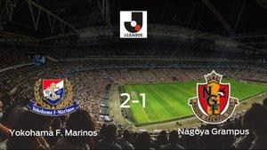 El Yokohama F. Marinos gana por 2-1 al Nagoya Grampus