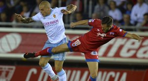 El Zaragoza acumulaba dos victorias antes de su reciente derrota contra el Málaga