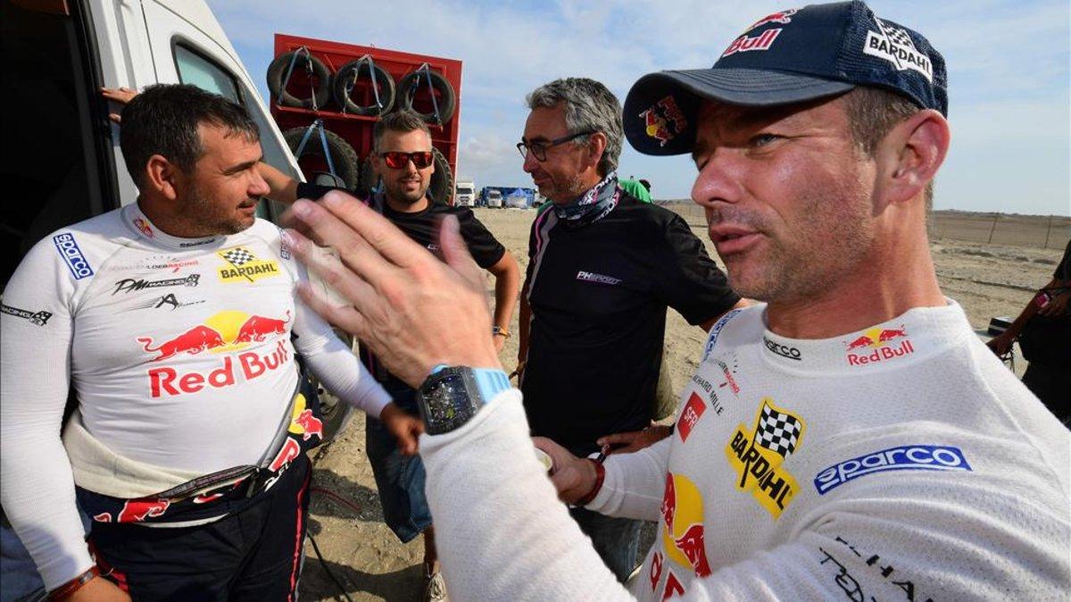 """Loeb: """"Queda mucha carrera por delante"""""""
