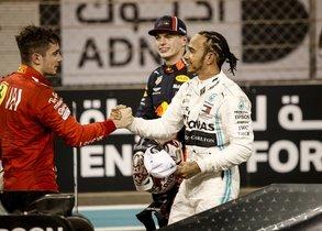 Leclerc y Hamilton, en sintonía