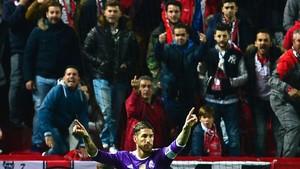 La afición del Sevilla no tuvo piedad con Sergio Ramos