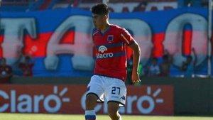 Agustín Cardozo, en una imagen de archivo con Tigre