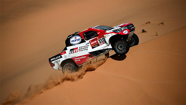Alonso hace repaso de la séptima etapa del Dakar