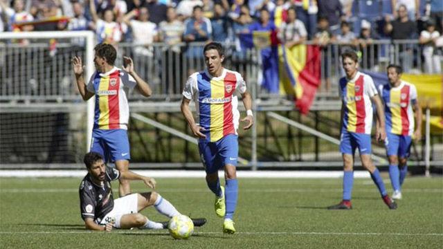 El Andorra sigue líder en el grupo tercero de 2ªB