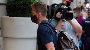 Arthur no juega desde que firmó con la Juve