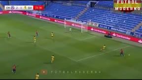 Arturo Vidal anotó el tercer tanto de Chile de penalti