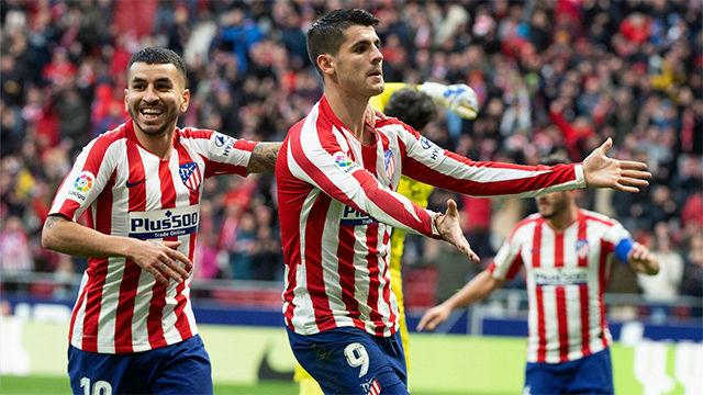 El Atlético impone su ley y el Espanyol se va de vacío del Wanda Metropolitano