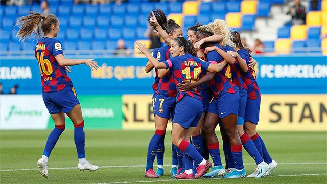 El Barça golea al Logroño y recupera el liderato