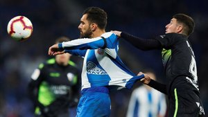 Borja Iglesias solo saldrá del Espanyol por la cláusula de rescisión al contado.