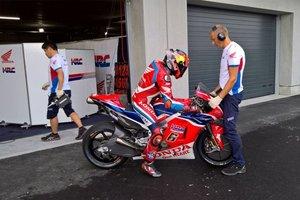 Bradl rodará con la Honda en Jerez