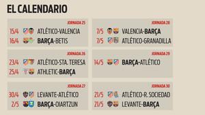 Calendario Del Barca.Llega La Hora De La Verdad En La Liga Iberdrola Para Barca Y Atletico