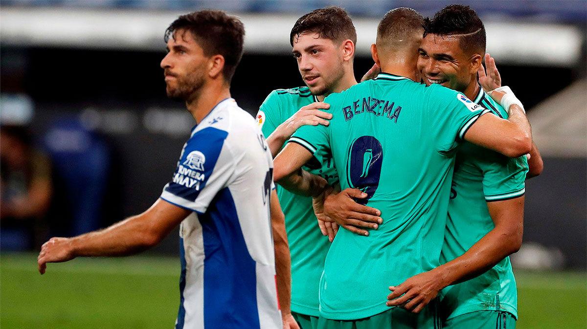 Casemiro: El gol es de Karim