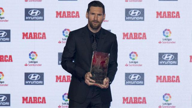 El chiste de Leo Messi sobre su lesión
