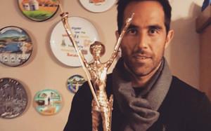 Claudio Bravo recobió un Quijote de la ciudad de Buin