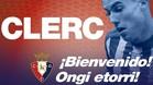 Clerc jugará en Osasuna