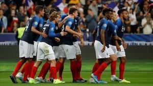 Con asistencia de Antoine y gol de Lenglet, Francia superó a Andorra