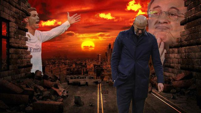 La crisis blanca: Zidane, Ronaldo y otros problemas del Real Madrid