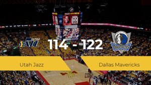Dallas Mavericks gana a Utah Jazz (114-122)