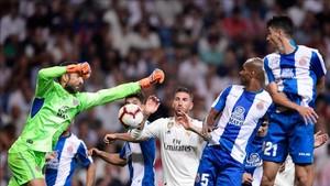 Diego López, pieza decisiva en el Espanyol