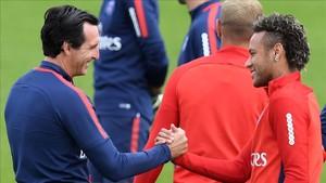 Emery, convencido de la continuidad de Neymar