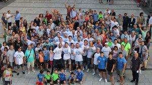 Fiesta por todo lo alto para celebrare el ascenso de El Prat