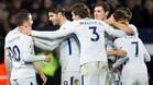 Hazard, Morata y Marcos Alonso, goleadores