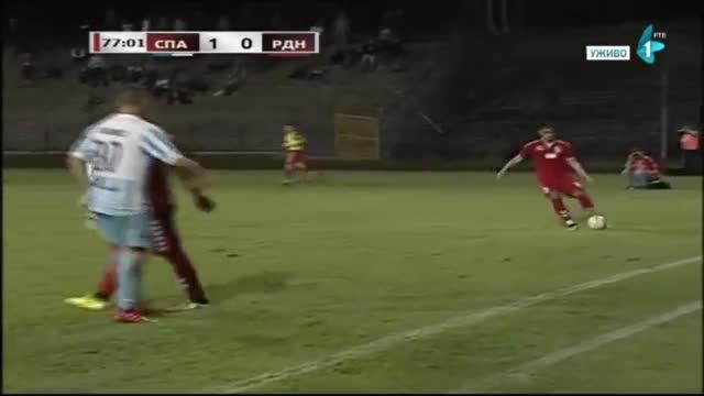 El inexistente penalti pitado por Obradovic