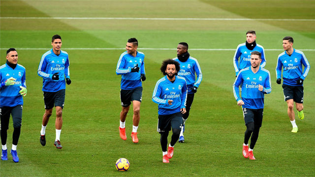 Kroos y Llorente, novedades en el entrenamiento del Madrid