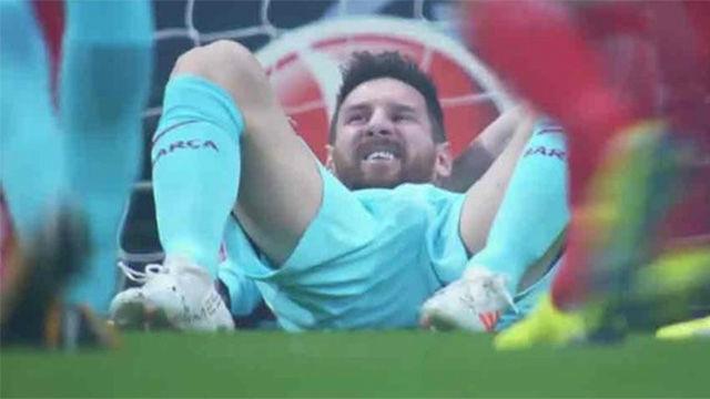 LALIGA | Atlético Madrid - FC Barcelona (1-1): Ocasión clara de Messi en el minuto 1