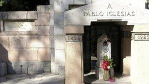 Las tumbas de Pablo Iglesias y La Pasionaria han sido profanadas